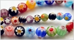 Millefiore Glass Bead
