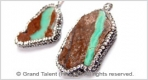Gemstone Rhinestones Pendants