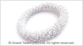 Crystal Stretch Web Bracelet