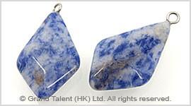 Blue Spot Jasper Pendant