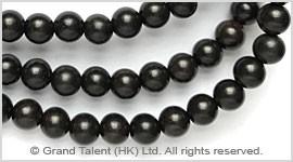 Natural Black Ebony Wood Bead
