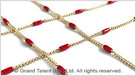 Enamel Brass Chain