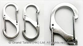 S-Hook Metal Clasp For Paracord Bracelet