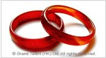 Red Agate Bangle