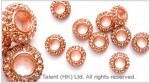Rhinestone Alloy Spacers
