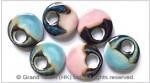 Multi Color Ceramic Porcelain Donuts
