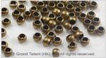 Brass Crimp Beads