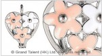 Essential Oil Aromatherapy Diffuser Charm Perfume Metal Locket