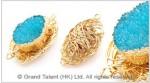 Blue Druzy Agate Pendant