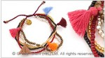 Multi Layers Tassel Bracelet