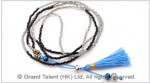 Tiny Seed Beads Tassel Necklace