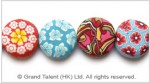 Fimo Polymer Clay Bead