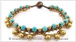 Greenish Blue Turquoise Bracelet