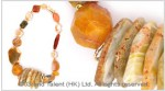 Multi Orange Agate Necklace