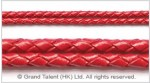 Braided Genuine Leather Cord