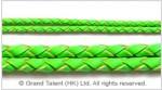 Braided Genuine Leather Cord