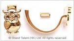 Alloy Leather Clasp