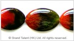 Red Green Agate