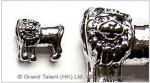Brass Pandora Charm