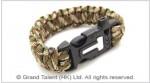 Men's Style Multi Green Paracord Survival Bracelet