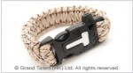 Men's Style Multi Tan Paracord Survival Bracelet