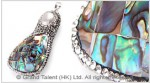 Freshwater Pearl & Abalone Crystals Pendant