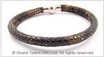 Snakeskin PU Leather Cord Bracelet