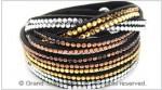 Crystals & Velvet Bracelet