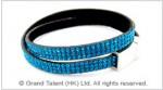 Crystals and Velvet Bracelet