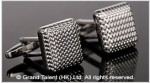 Square Brass Designer Cufflinks