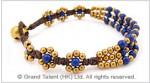 Navy Blue Turquoise Bracelet
