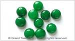 Emerald Green Jade Cabochon
