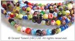 Millefiore Glass Bead