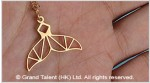Origami Animal Stainless Steel Charm