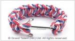Multi Color Paracord Anchor Bracelet