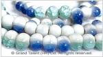 White Porcelain Bead